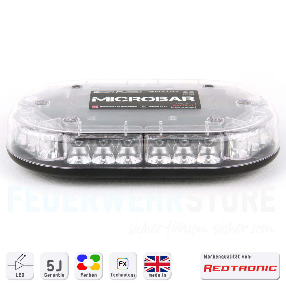 Redtronic Mini Lichtbalken Microbar R65 (Akku optional) - FWstore