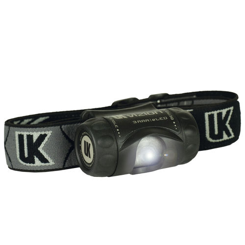 UK 3AAA Vizion Stirnlampe