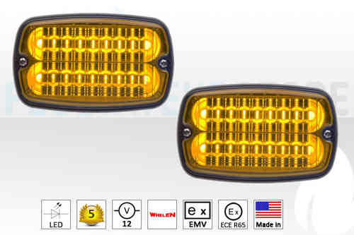 Whelen M6 LED Frontlitzer ECE R-65 in Gelb