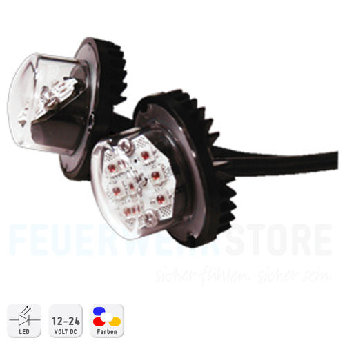 Hide-Away Warnblitzer Set S-HAL06 6-LED System 12/24 V