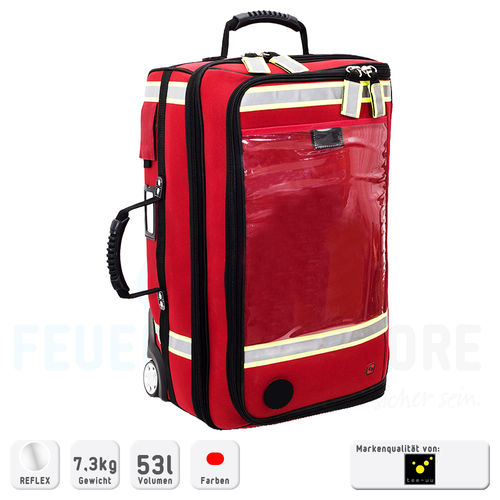 ELITE-BAGS EMERAIR´s TROLLEY Beatmungskoffer