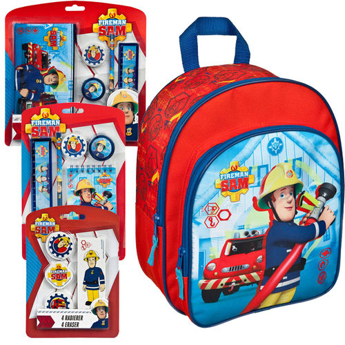 "Feuerwehrmann Sam Vorteilspreis-Bundle ""School is cool"""